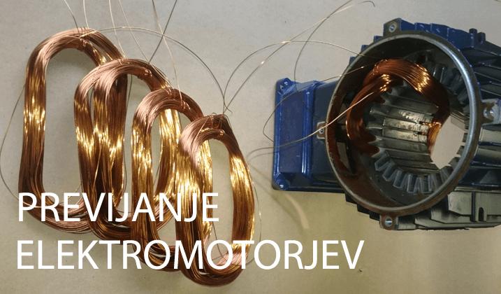 Previjanje elektromotorja