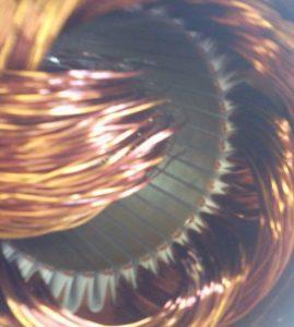 Previjanje elektromotorja - stator